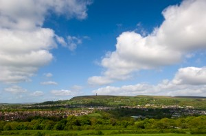 Ramsbottom and The Peel Tower - image by Marketing Manchester