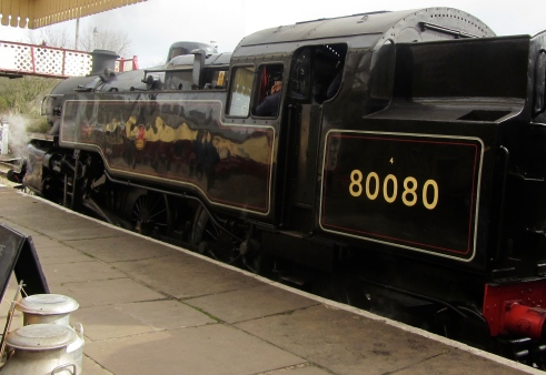 80080 at Ramsbottom Station