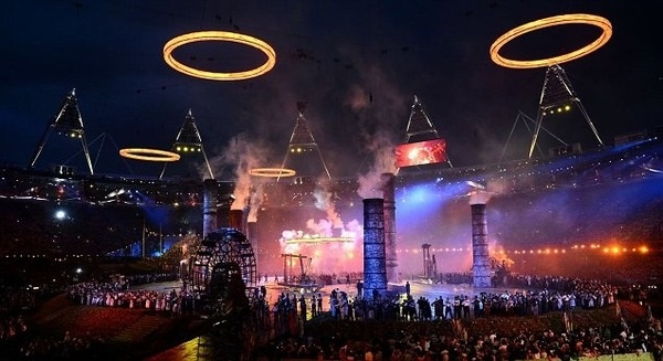 The spectacular opening ceremony of the London 2012 Olympic Games