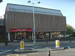 The former antiques market, Salop Street, Wolverhampton