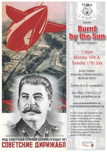 Flyer for Burnt by the Sun