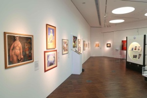 The Pauline Boty exhibition at Wolverhampton Art Gallery